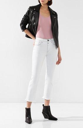 Женские джинсы 3X1 белого цвета, арт. W4HWV0952/ADELIA | Фото 2