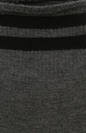 Женские шерстяные носки ANTIPAST серого цвета, арт. KT-144S | Фото 2