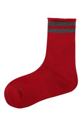 Женские шерстяные носки ANTIPAST красного цвета, арт. KT-144S | Фото 1