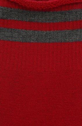 Женские шерстяные носки ANTIPAST красного цвета, арт. KT-144S | Фото 2