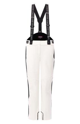 Женские утепленные брюки GIORGIO ARMANI белого цвета, арт. 6GAP85/AN92Z | Фото 1 (Материал внешний: Синтетический материал; Материал утеплителя: Шерсть; Женское Кросс-КТ: Брюки-одежда; Длина (брюки, джинсы): Стандартные; Силуэт Ж (брюки и джинсы): Прямые)