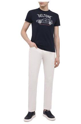 Мужские хлопковая футболка MC2 SAINT BARTH темно-синего цвета, арт. STBM ARN0TT/ARN0001 | Фото 2