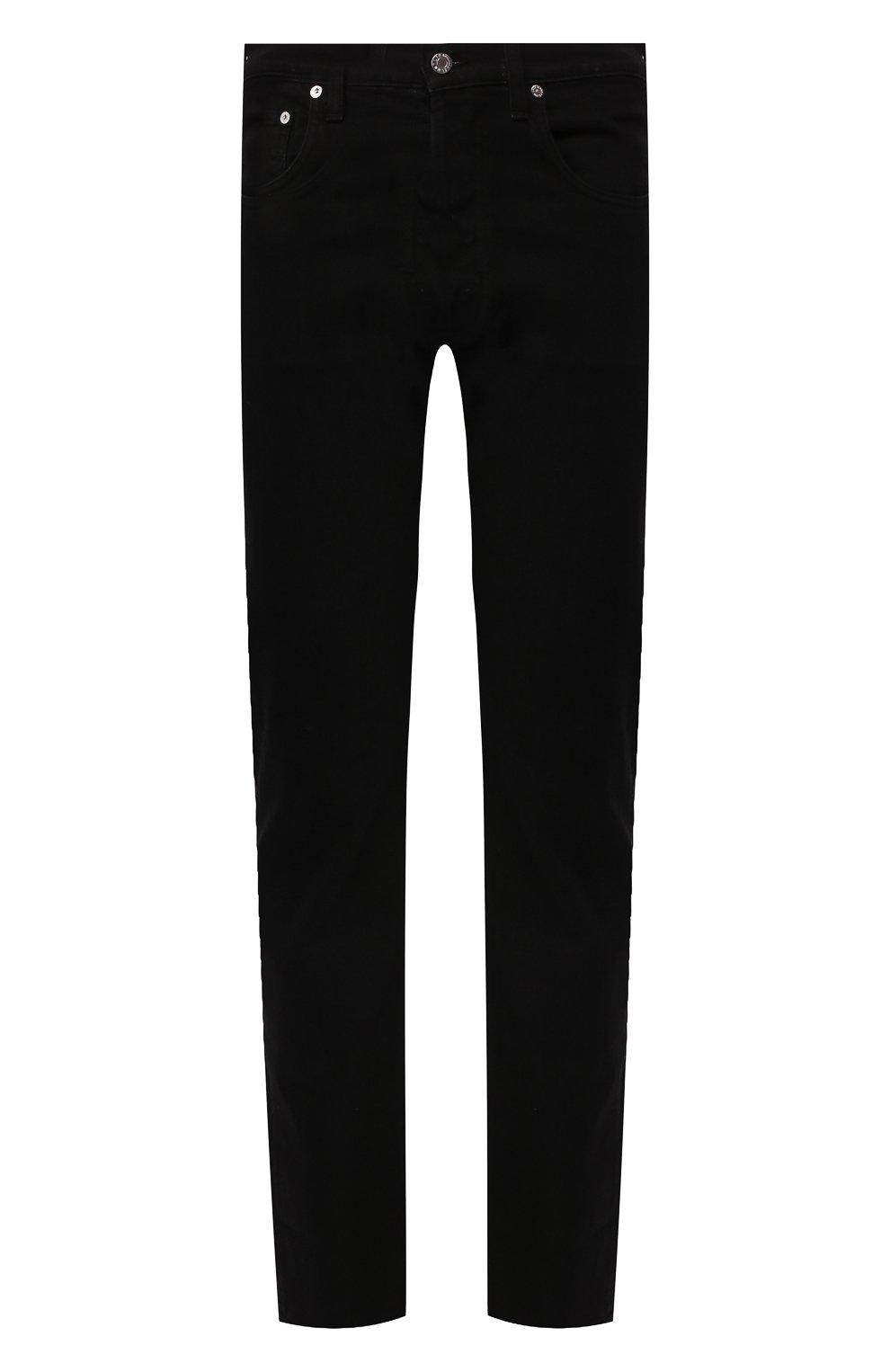 Мужские джинсы HELMUT LANG черного цвета, арт. I07DM209 | Фото 1