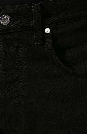 Мужские джинсы HELMUT LANG черного цвета, арт. I07DM209 | Фото 5