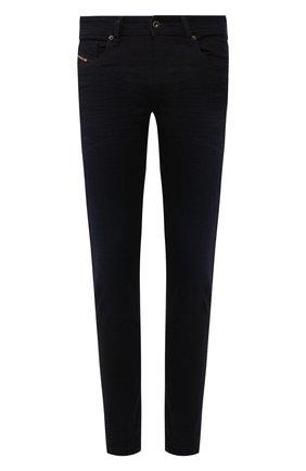 Мужские джинсы DIESEL темно-синего цвета, арт. 00SWJF/0095X | Фото 1