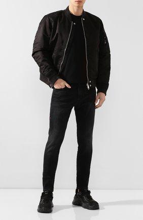 Мужские джинсы DIESEL темно-серого цвета, арт. 00SDUF/0096P | Фото 2