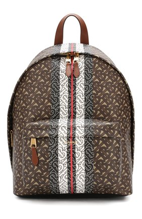 Мужской рюкзак BURBERRY коричневого цвета, арт. 8021277 | Фото 1