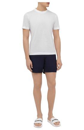 Мужские плавки-шорты ORLEBAR BROWN темно-синего цвета, арт. 252191 | Фото 2