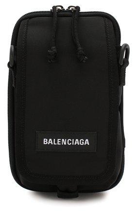 Мужская текстильная сумка explorer BALENCIAGA черного цвета, арт. 593329/9WBC5 | Фото 1