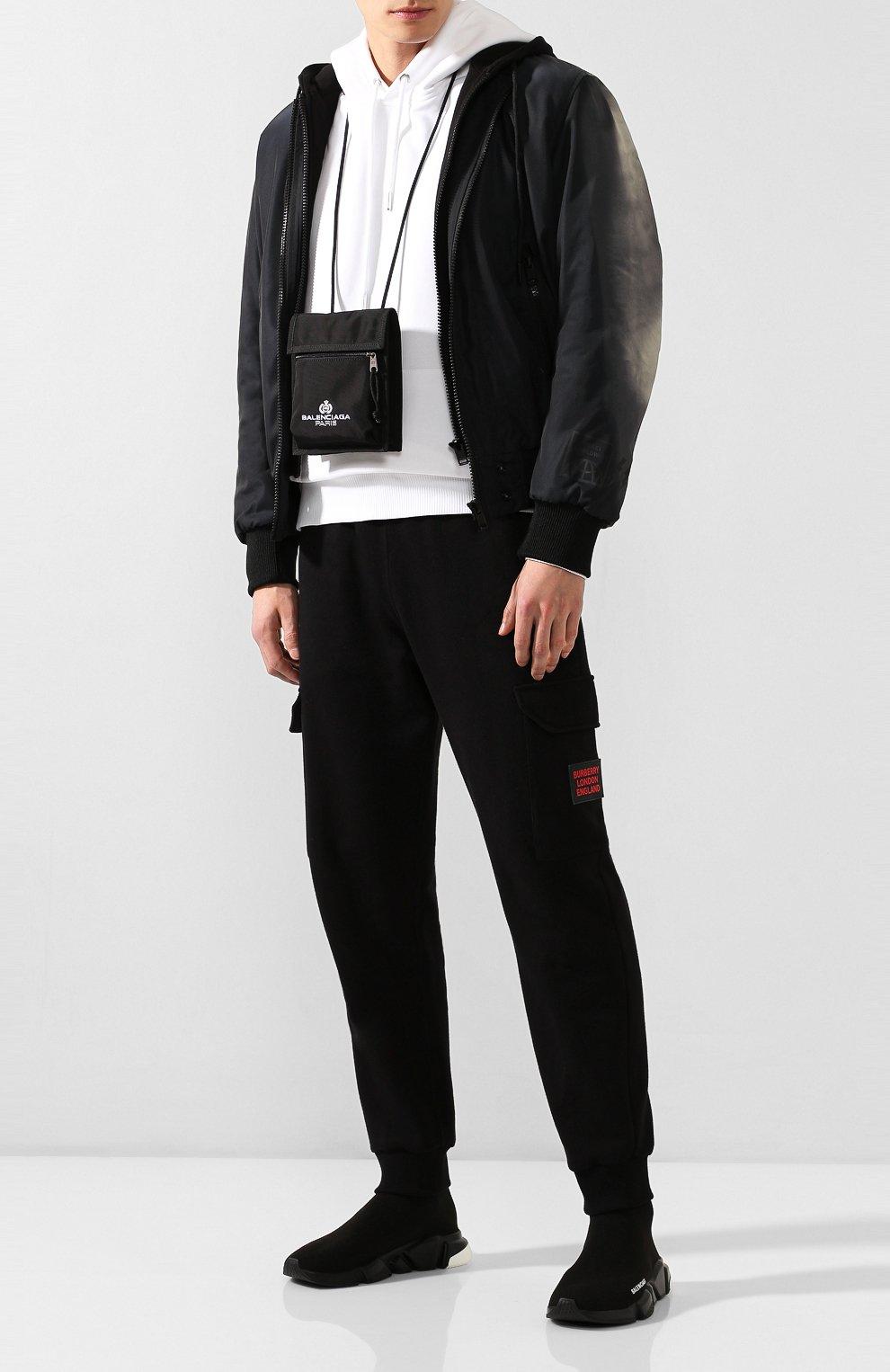 Мужская текстильная сумка explorer BALENCIAGA черного цвета, арт. 532298/9WB85 | Фото 2