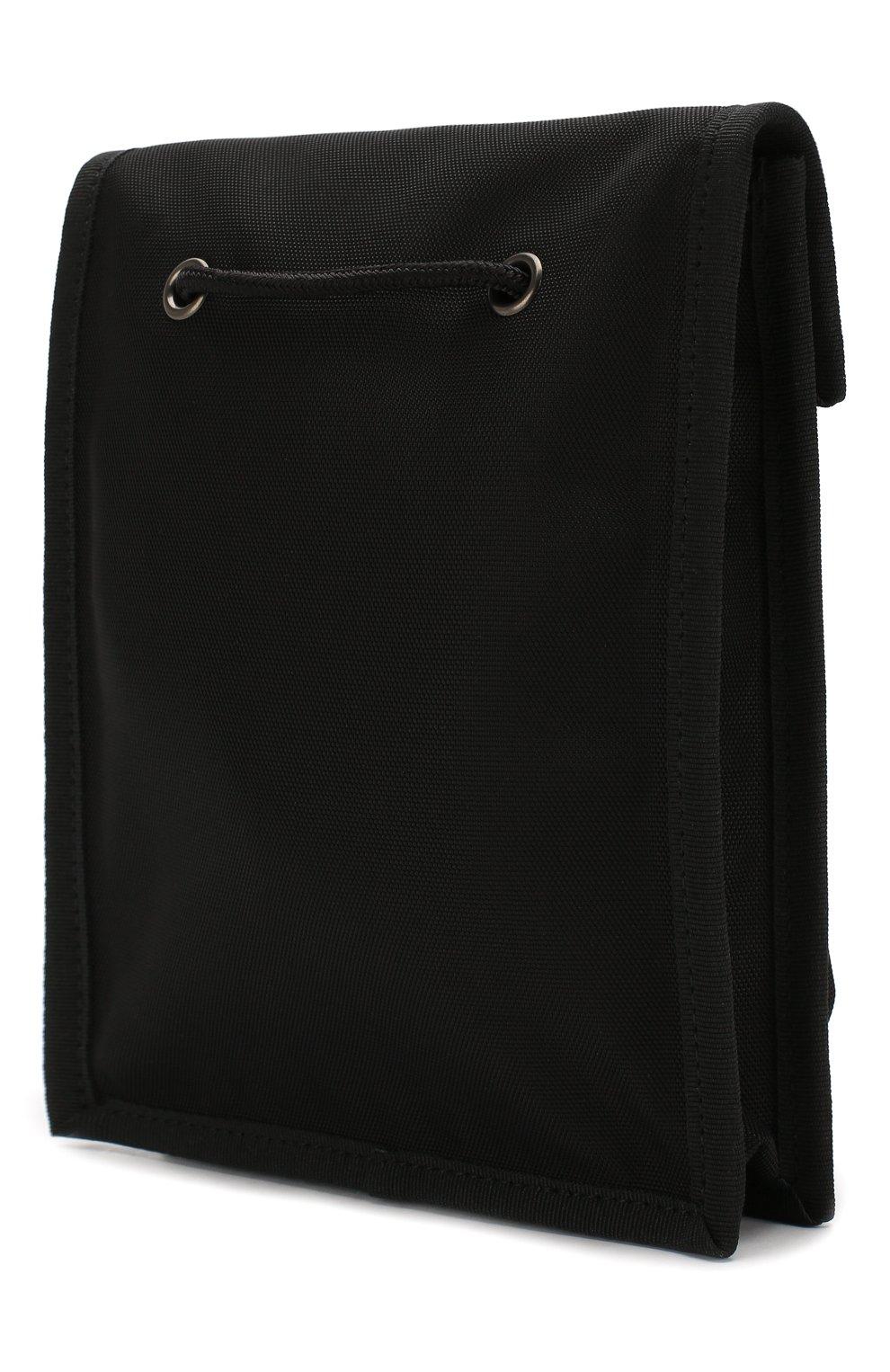 Мужская текстильная сумка explorer BALENCIAGA черного цвета, арт. 532298/9WB85 | Фото 3