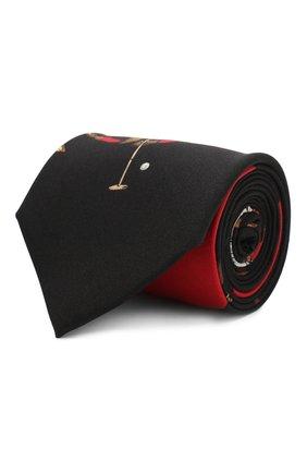 Мужской шелковый галстук RALPH LAUREN разноцветного цвета, арт. 791773339 | Фото 1