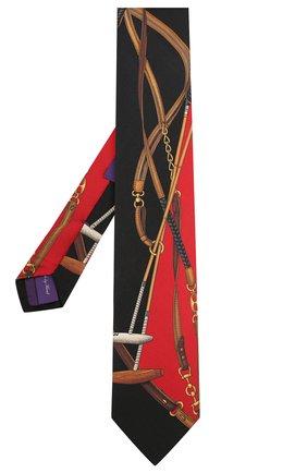 Мужской шелковый галстук RALPH LAUREN разноцветного цвета, арт. 791773340 | Фото 2