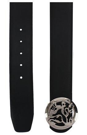 Мужской кожаный ремень ZILLI темно-синего цвета, арт. MJL-CLAQE-01030/0035/120-130 | Фото 2