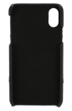 Мужской кожаный чехол для iphone x/xs VALENTINO черного цвета, арт. SY2P0379/PCR | Фото 2