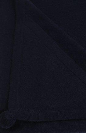Детского кашемировый плед LES LUTINS синего цвета, арт. 19H01708 | Фото 2