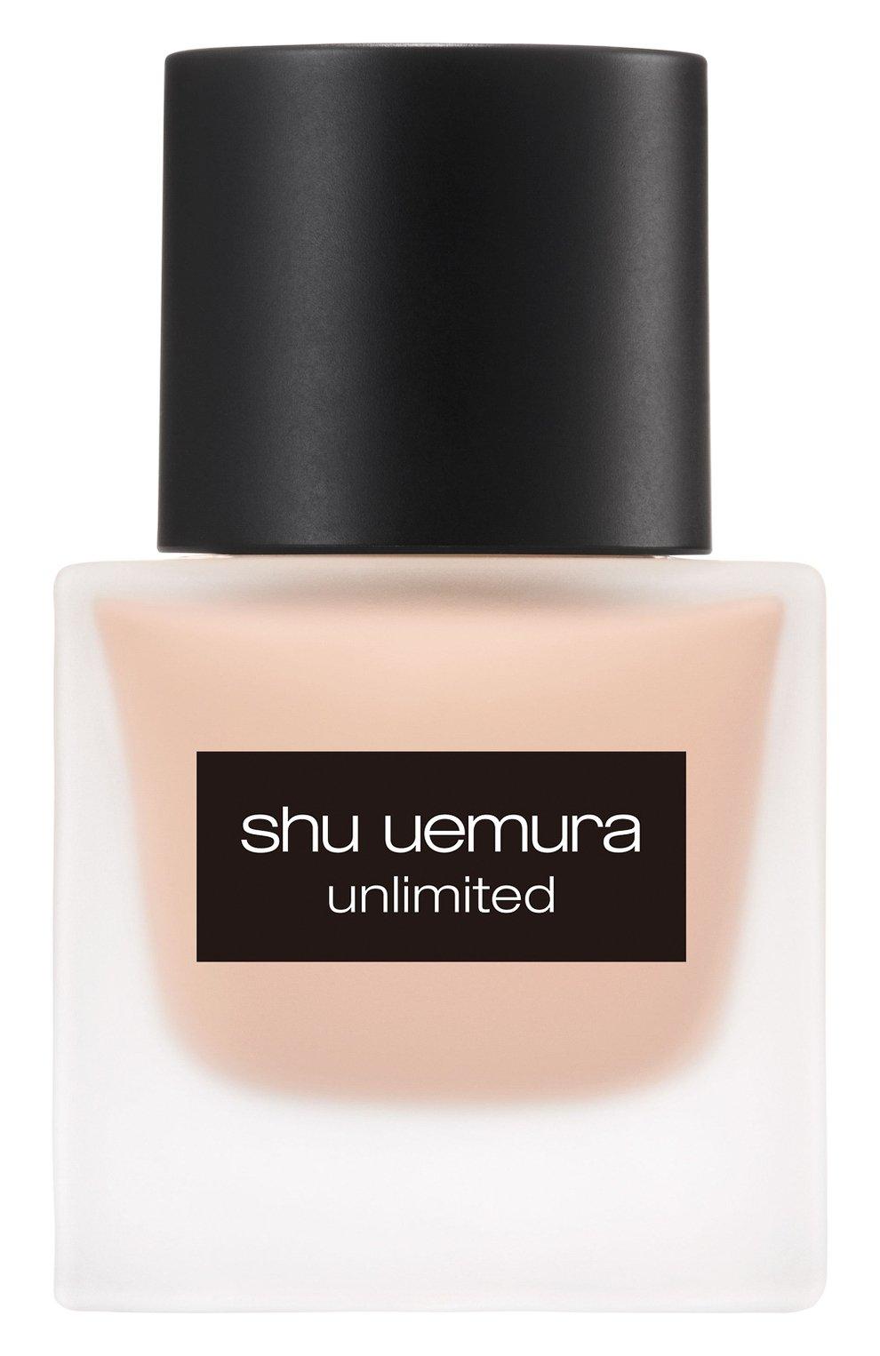 Женское тональный флюид unlimited, оттенок 474 SHU UEMURA бесцветного цвета, арт. 4935421697057 | Фото 1