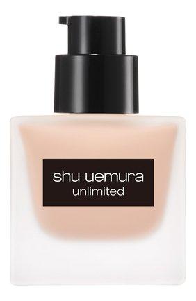 Женское тональный флюид unlimited, оттенок 474 SHU UEMURA бесцветного цвета, арт. 4935421697057 | Фото 3