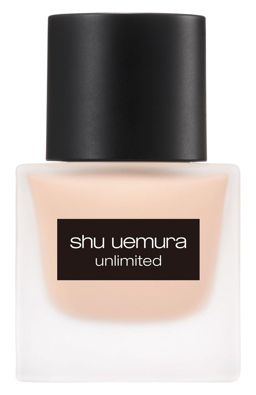 Женское тональный флюид unlimited, оттенок 484 SHU UEMURA бесцветного цвета, арт. 4935421697064   Фото 1