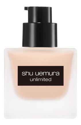 Женское тональный флюид unlimited, оттенок 484 SHU UEMURA бесцветного цвета, арт. 4935421697064   Фото 3