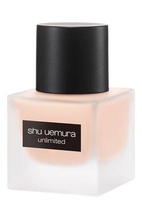 Женское тональный флюид unlimited, оттенок 484 SHU UEMURA бесцветного цвета, арт. 4935421697064   Фото 4