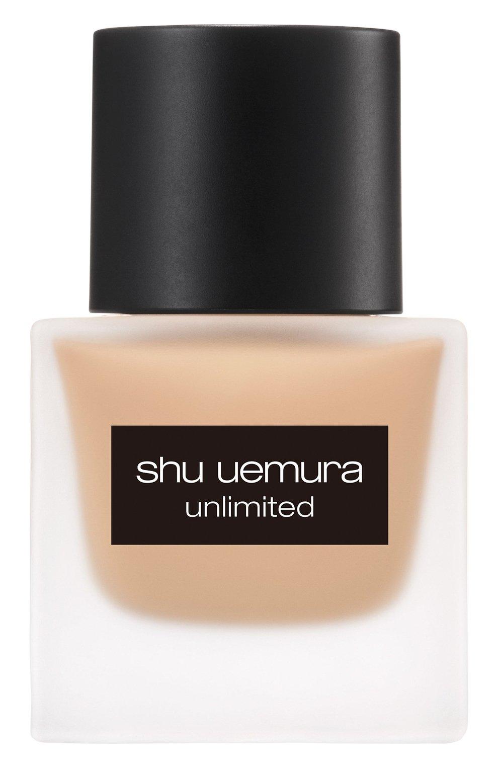 Женское тональный флюид unlimited, оттенок 554 SHU UEMURA бесцветного цвета, арт. 4935421697101   Фото 1
