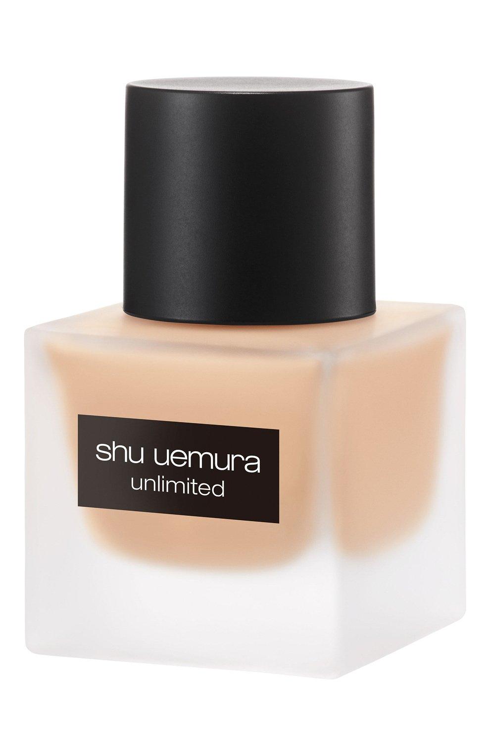 Женское тональный флюид unlimited, оттенок 554 SHU UEMURA бесцветного цвета, арт. 4935421697101   Фото 4
