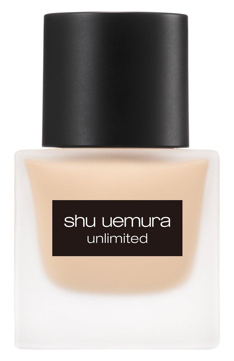 Женское тональный флюид unlimited, оттенок 674 SHU UEMURA бесцветного цвета, арт. 4935421697187 | Фото 1