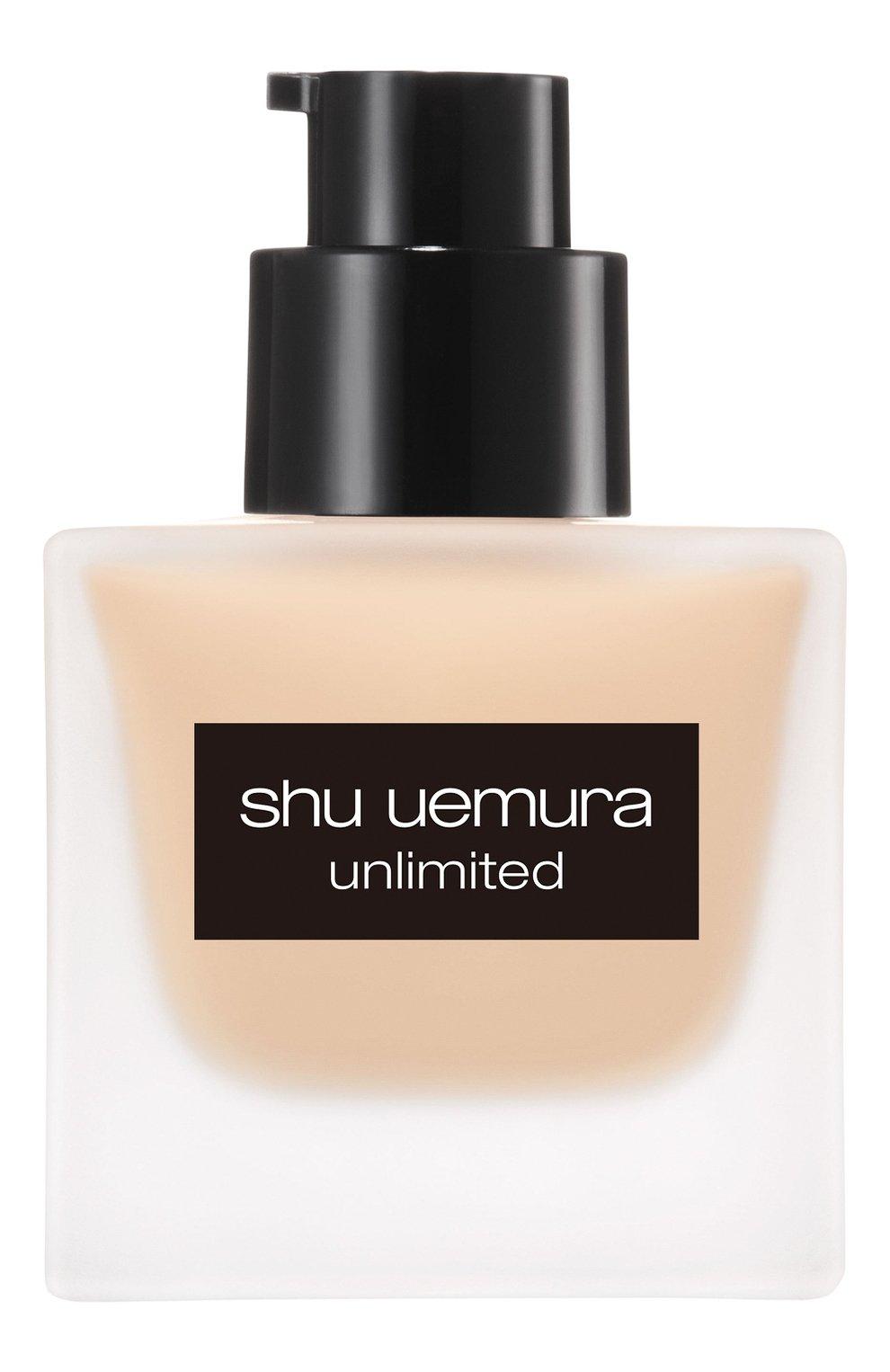 Женское тональный флюид unlimited, оттенок 674 SHU UEMURA бесцветного цвета, арт. 4935421697187 | Фото 3