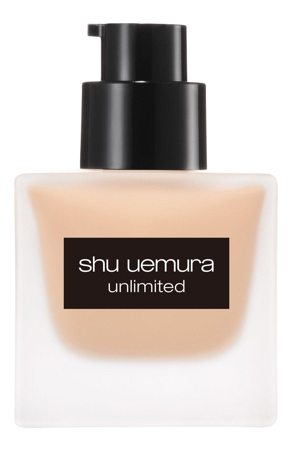Женское тональный флюид unlimited, оттенок 574 SHU UEMURA бесцветного цвета, арт. 4935421697125 | Фото 3
