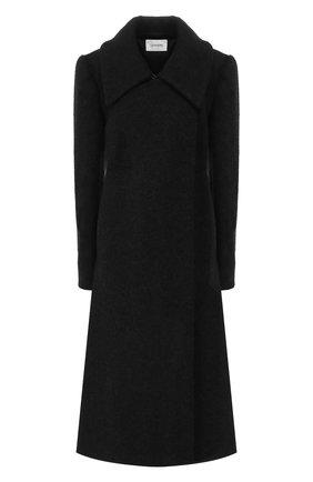 Женское шерстяное пальто LEMAIRE черного цвета, арт. W 194 C0239 LF278 | Фото 1