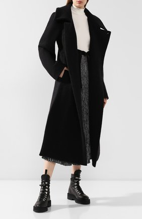 Женское шерстяное пальто LEMAIRE черного цвета, арт. W 194 C0239 LF278 | Фото 2