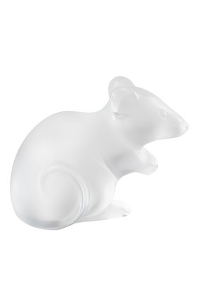 Мужская статуэтка мышка LALIQUE прозрачного цвета, арт. 10686400 | Фото 1