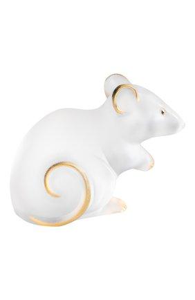 Мужская статуэтка мышка LALIQUE прозрачного цвета, арт. 10686600 | Фото 1
