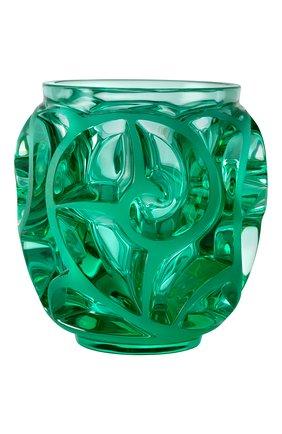 Мужского ваза tourbillons LALIQUE зеленого цвета, арт. 10684800 | Фото 1