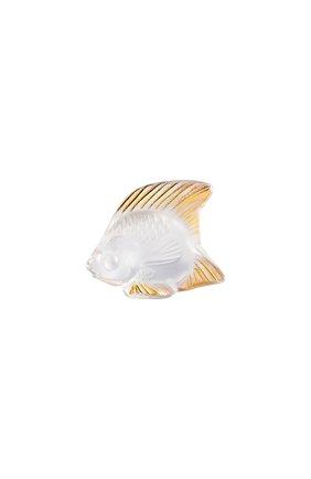 Мужская статуэтка fish LALIQUE прозрачного цвета, арт. 10685100 | Фото 1