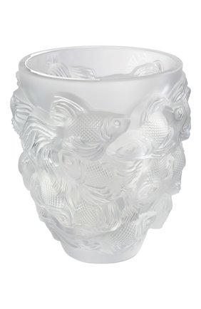 Мужского ваза rosetail LALIQUE прозрачного цвета, арт. 10684500 | Фото 1