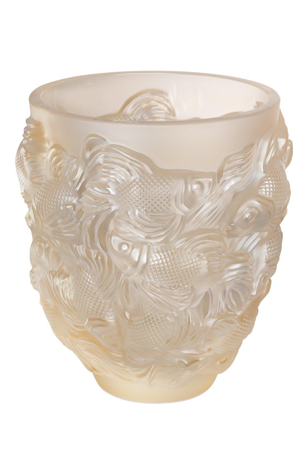 Мужского ваза rosetail LALIQUE золотого цвета, арт. 10684600 | Фото 1