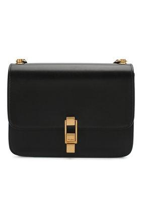 Женская сумка carre SAINT LAURENT черного цвета, арт. 585060/0SX0W | Фото 1