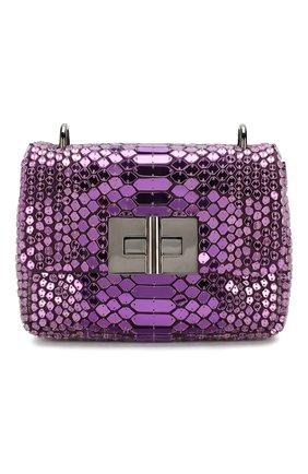 Женский сумка natalia soft small TOM FORD фиолетового цвета, арт. L0983R-ISA001 | Фото 1