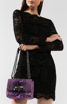 Женский сумка natalia soft small TOM FORD фиолетового цвета, арт. L0983R-ISA001 | Фото 2