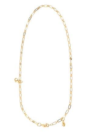 Женское колье HYPSO золотого цвета, арт. C0LLIER 3 M0USQUET0N | Фото 1