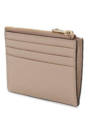 Женский кожаный футляр для кредитных карт FURLA бежевого цвета, арт. PBA2/Q26 | Фото 2