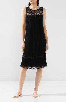 Женская сорочка FREE VOOGUE черного цвета, арт. 29309 | Фото 2