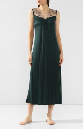 Женская сорочка FREE VOOGUE зеленого цвета, арт. 29104 | Фото 2
