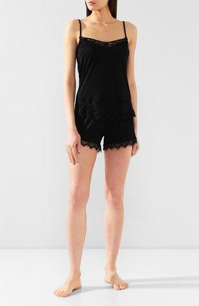 Женская пижама FREE VOOGUE черного цвета, арт. 29301 | Фото 1