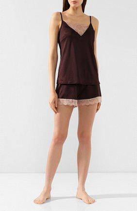 Женские шорты MEY коричневого цвета, арт. 49_349_245 | Фото 2