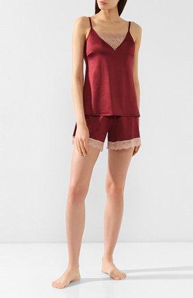 Женские шорты MEY бордового цвета, арт. 49_349_284 | Фото 2