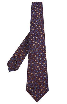 Мужской шелковый галстук KITON разноцветного цвета, арт. UCRVKLC08F47 | Фото 2