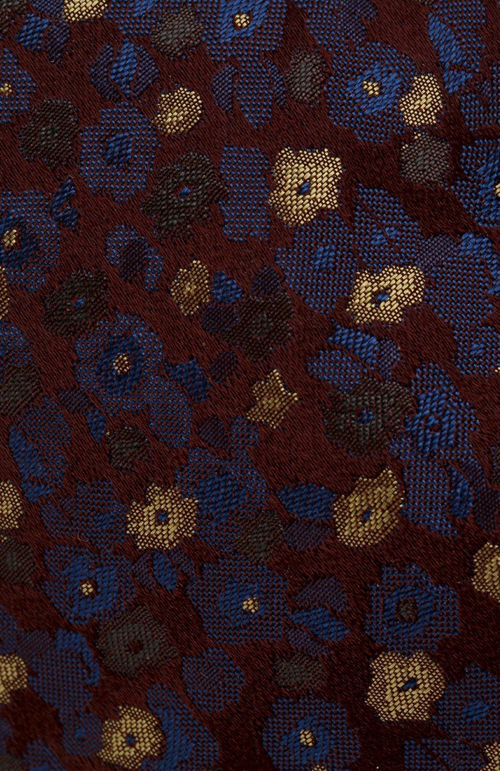Мужской шелковый галстук KITON разноцветного цвета, арт. UCRVKLC08F47 | Фото 3